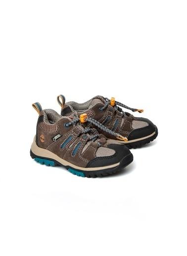 Timberland Timberland 2TIK2015138 Zip Trial Bağcıklı Renkli Çocuk Outdoor Ayakkabı Kahve